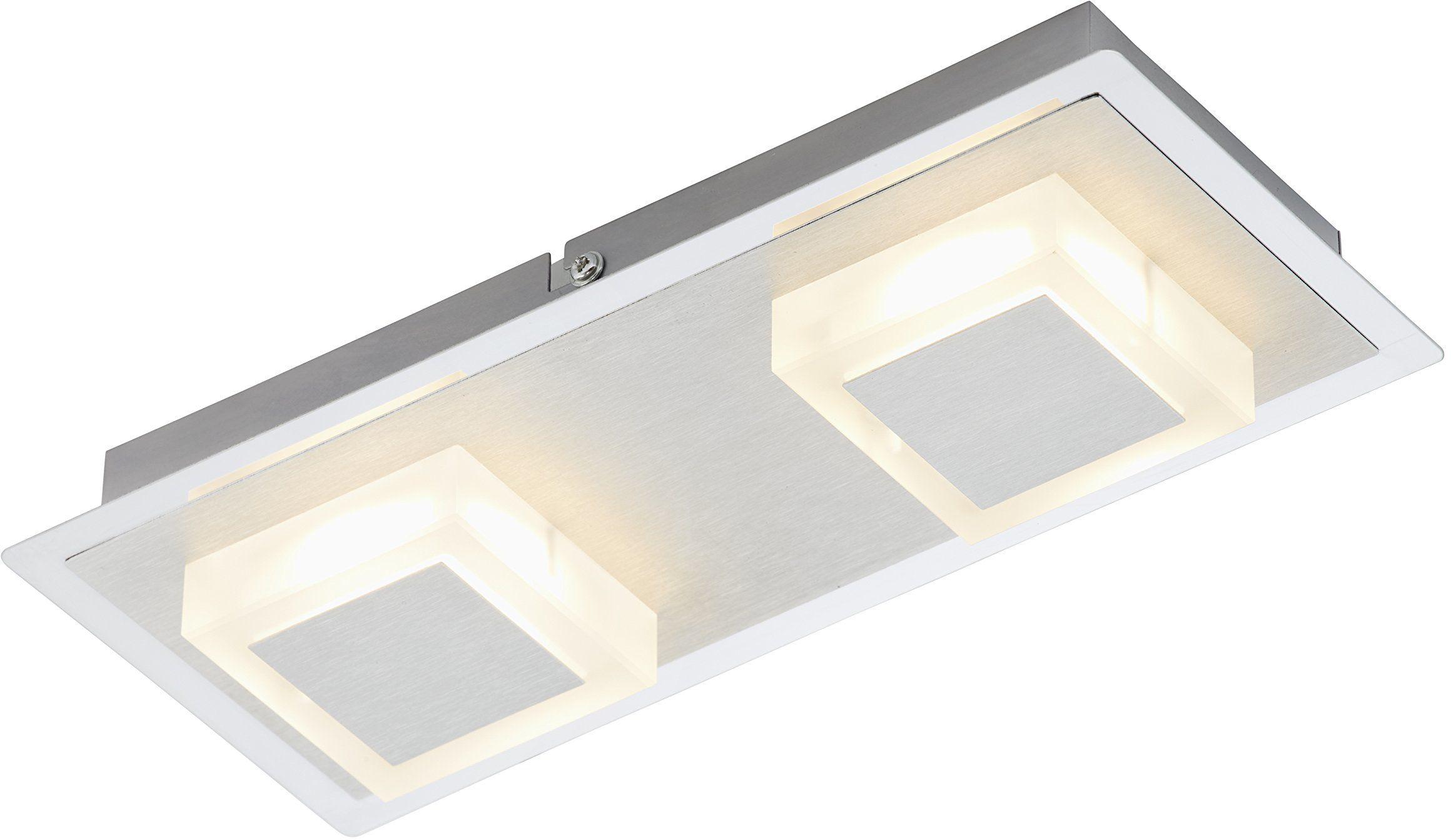 Briloner Leuchten Lampa sufitowa, lampa LED, lampa sufitowa, reflektor LED, lampa ścienna, lampa do salonu, lampa sufitowa, oświetlenie sufitowe