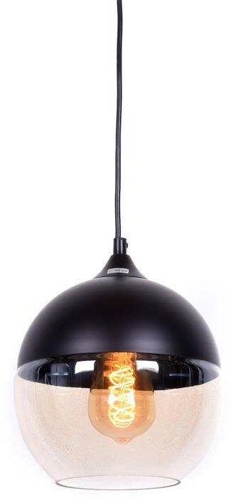 Lumina Deco Albion loftowa industrialna czarna lampa wisząca