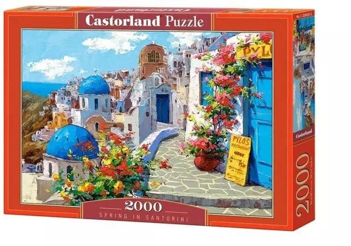 Puzzle 2000 Spring in Santorini CASTOR - Castorland