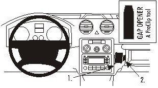 ProClip do Volkswagen Caddy 04-15
