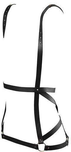 Sukienka z pasów - Bijoux Indiscrets Maze Arrow Dress Harness Black