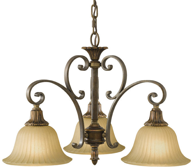 Lampa wisząca Kelham Hall FE/KELHALL DN3LT Feiss potrójna oprawa w dekoracyjnym stylu