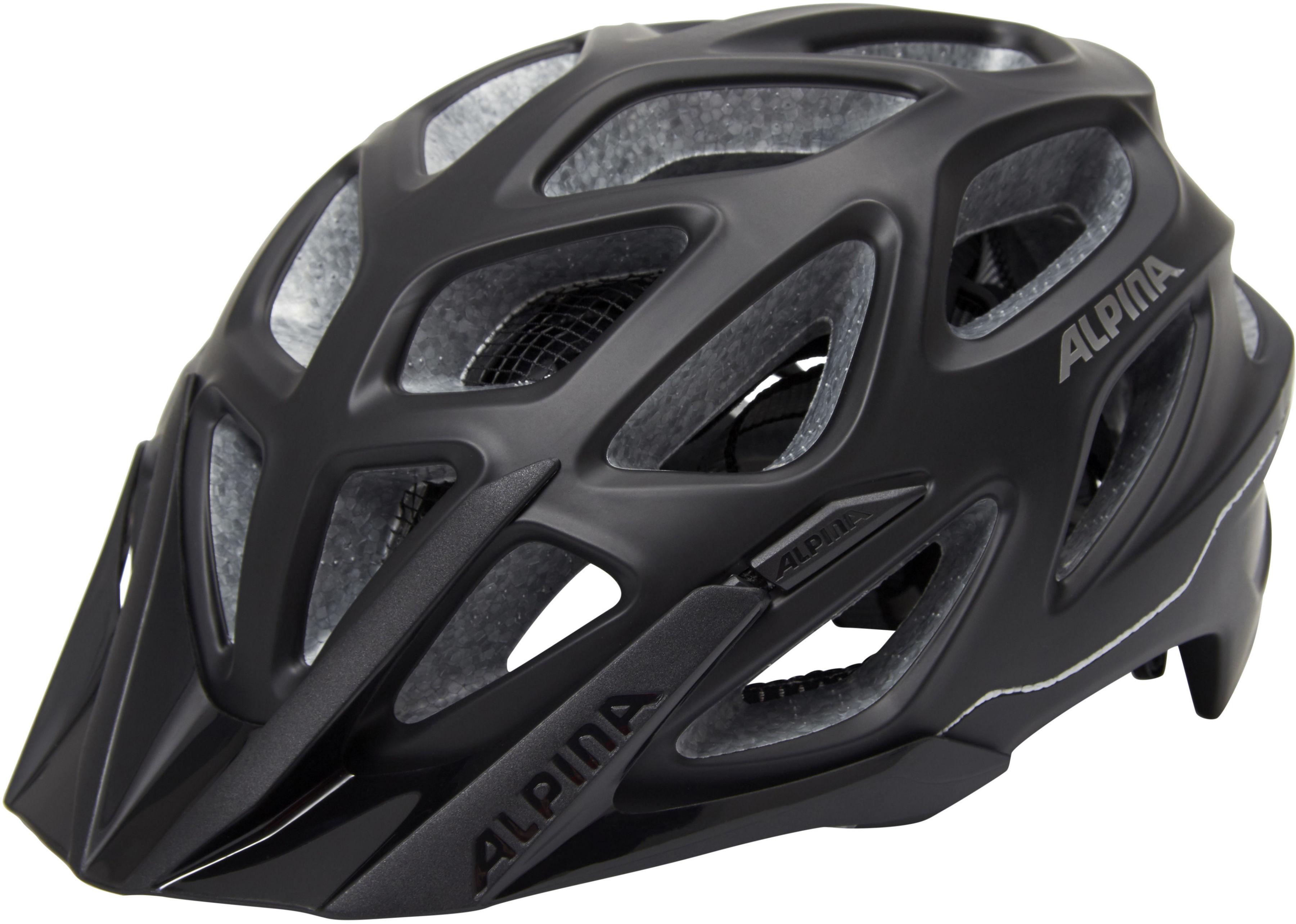 ALPINA MYTHOS 3.0 L.E kask rowerowy czarny-mat Rozmiar: 57-62,A9713334