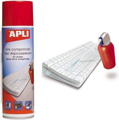Sprężone powietrze łatwopalne APLI 400ml
