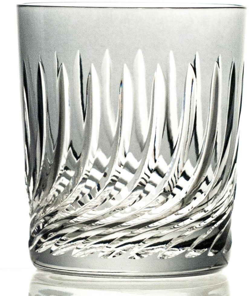 Szklanki kolorowe kryształowe do whisky 6 sztuk (11117)