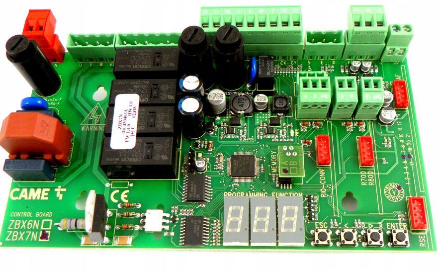 CAME ZBX 74/78 PLUS STRONG ZBX7N bramy przesuwne
