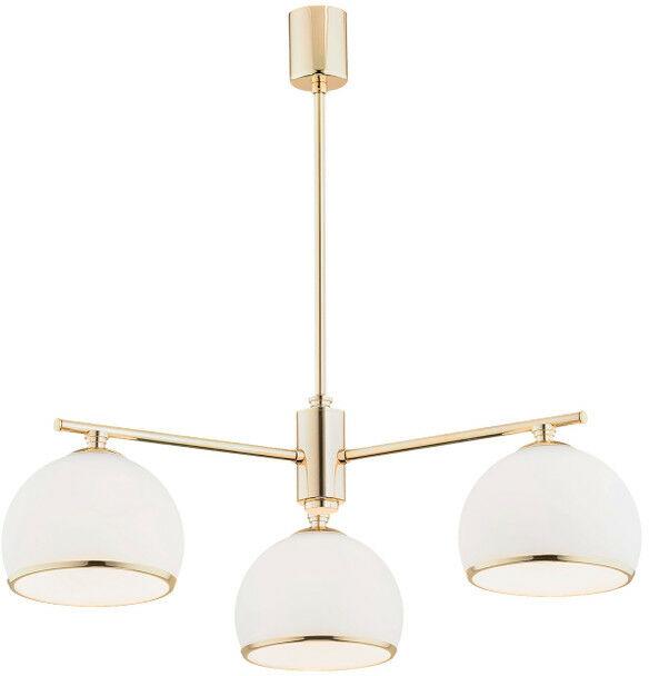 Lampa wisząca MARBELLA 1488 glamour szklany złoty - Argon  Sprawdź kupony i rabaty w koszyku  Zamów tel  533-810-034