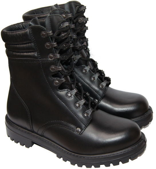 Buty desantowe - czarne (MIL192) SR