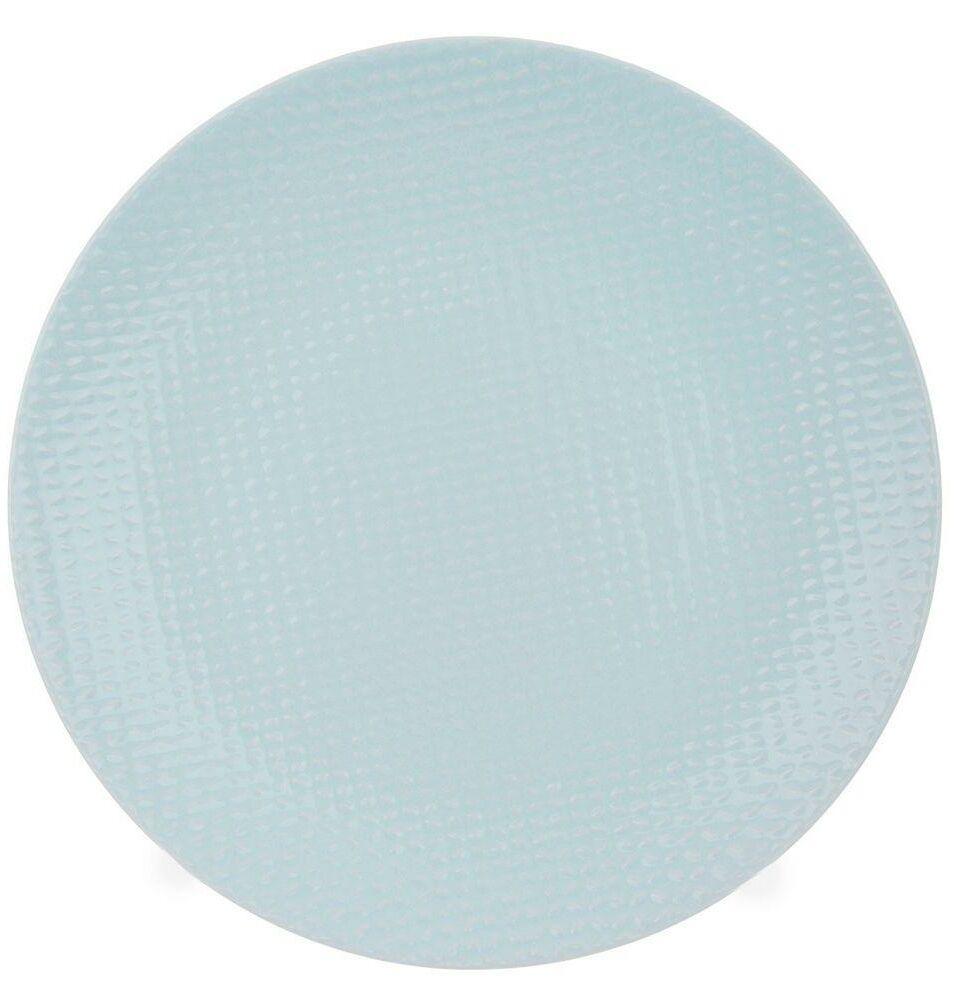 Talerz OBIADOWY płaski ceramiczny 27 cm ZIELONY