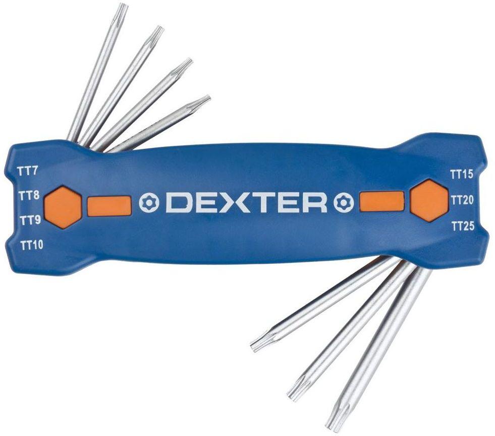 Zestaw kluczy imbusowych 7 szt. TT 7 - 25 Dexter