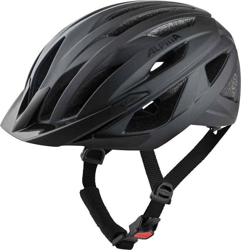 ALPINA kask rowerowy mtb PARANA black matt A9755230 Rozmiar: 58-63,A9755230par