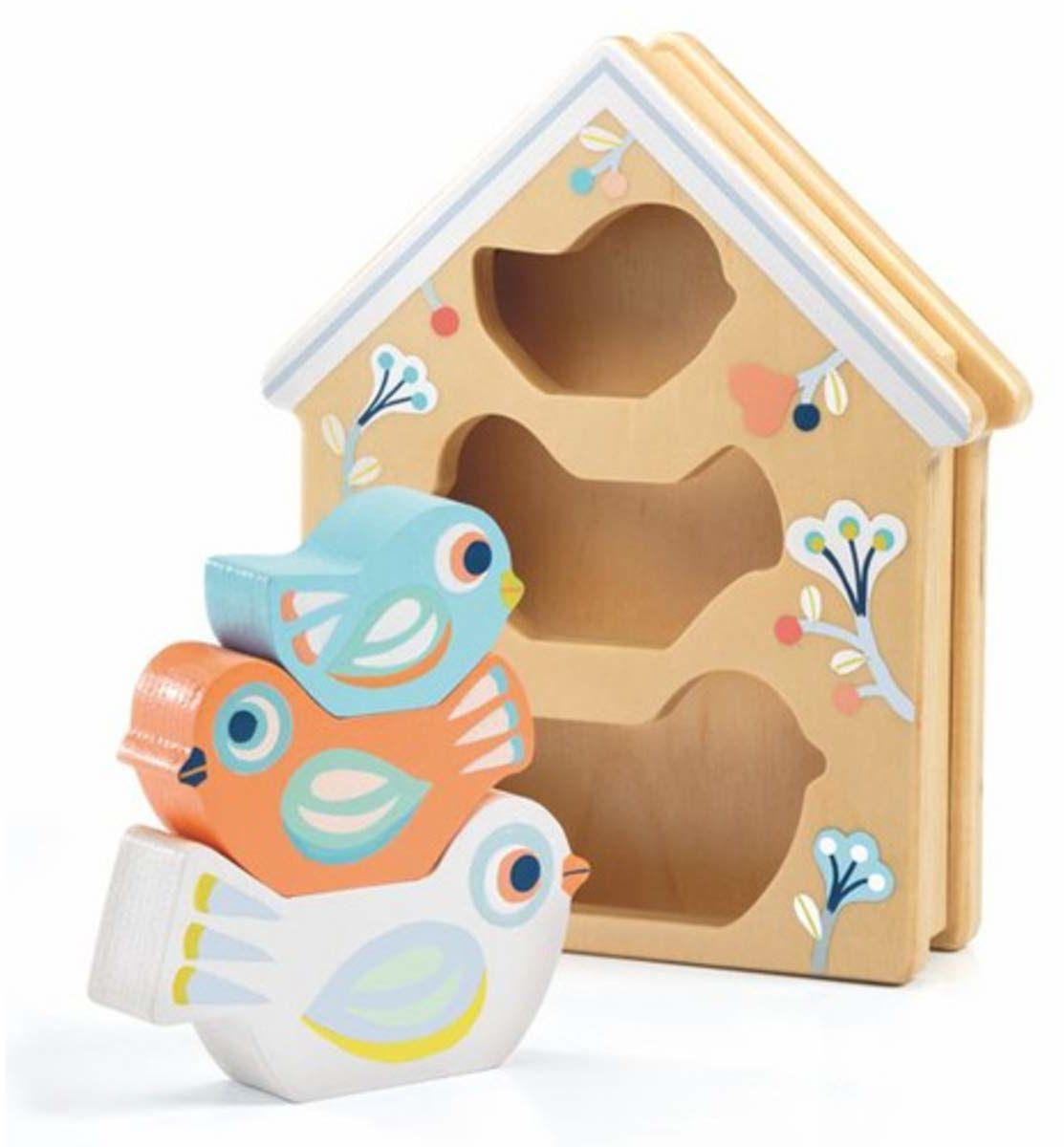 DJECO - Puzzle BabyBirdi (36123)