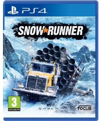 Gra PS4 SnowRunner
