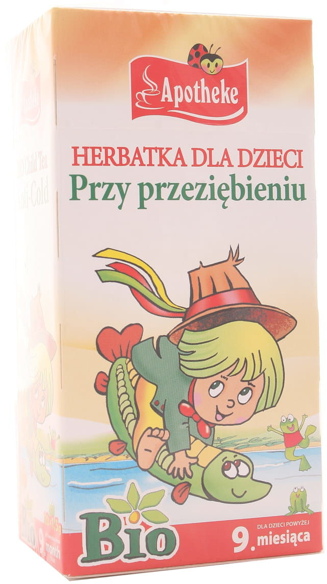 Herbatka dla dzieci przy przeziębieniu BIO - Apotheke - 20 saszetek