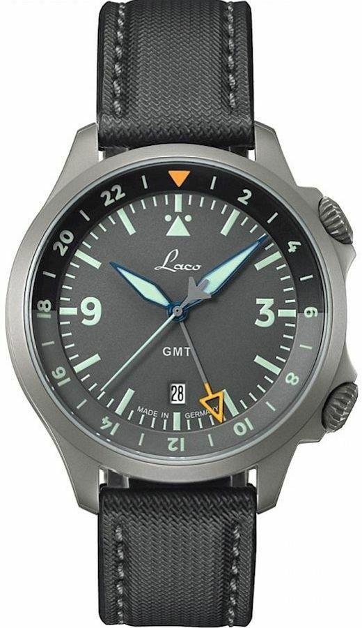 Zegarek męski Laco Frankfurt GMT Automatic