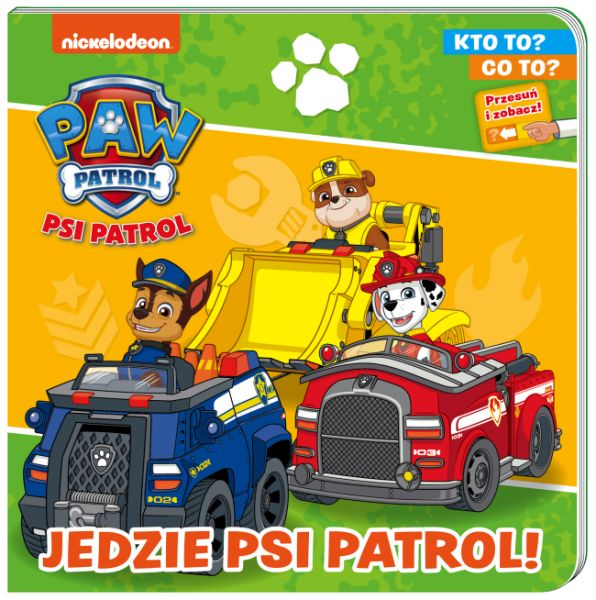 Psi Patrol Kto to? Co to? Jedzie Psi Patrol