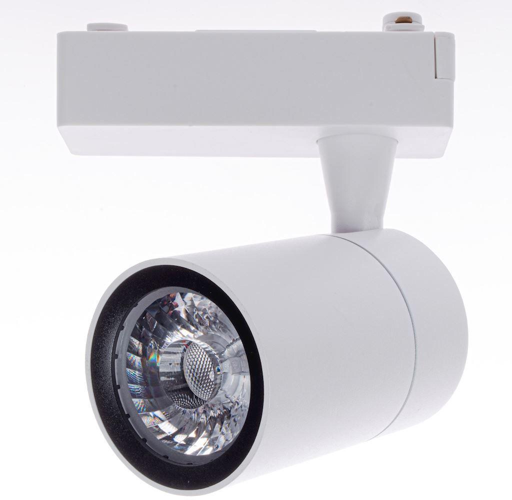Milagro TRACK LIGHT ML3910 oprawa do systemu szynowego biała 7W LED White 3000K 8 cm