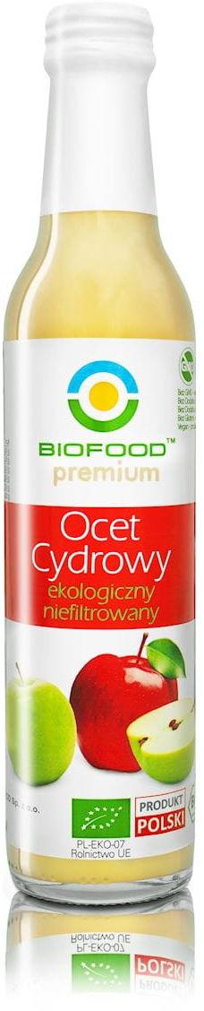 Ocet cydrowy bio 250 ml - bio food