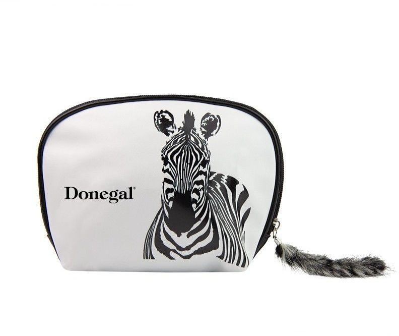 Donegal Kosmetyczka damska zebra 4847