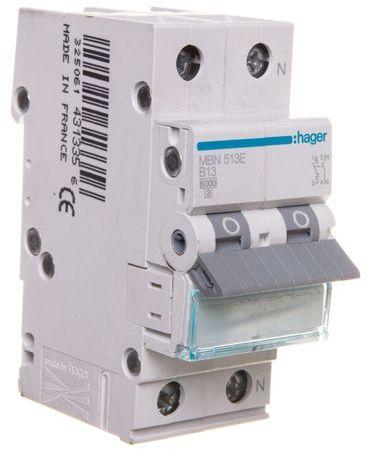 Wyłącznik nadprądowy 1+N B 13A 6kA AC MBN513E