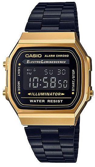Zegarek Casio A168WEGB-1BEF Retro