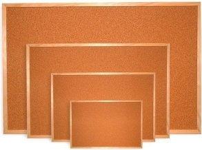Tablica korkowa rama drewniana 100x60 cm DOM KORKOWY