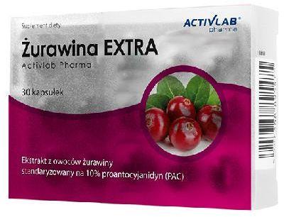 ActivLab Żurawina EXTRA 30 kapsułek