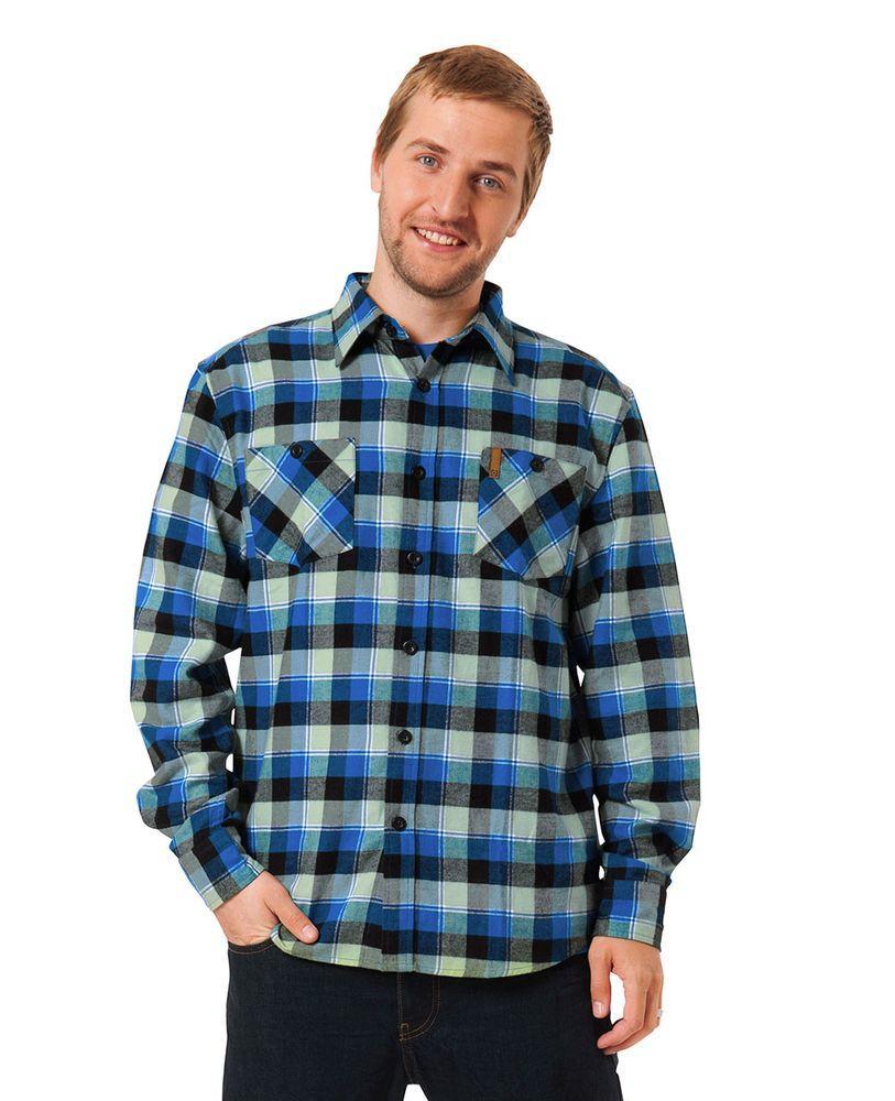koszula męska z długim rękawem HORSEFEATHERS NOME BUTTON-UP SHIRT (blue)