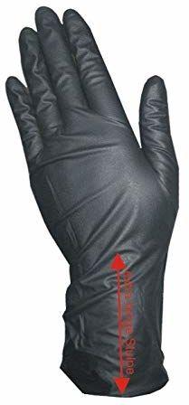 COIPRO winylowe rękawice z mankietem XL bez talku, duże