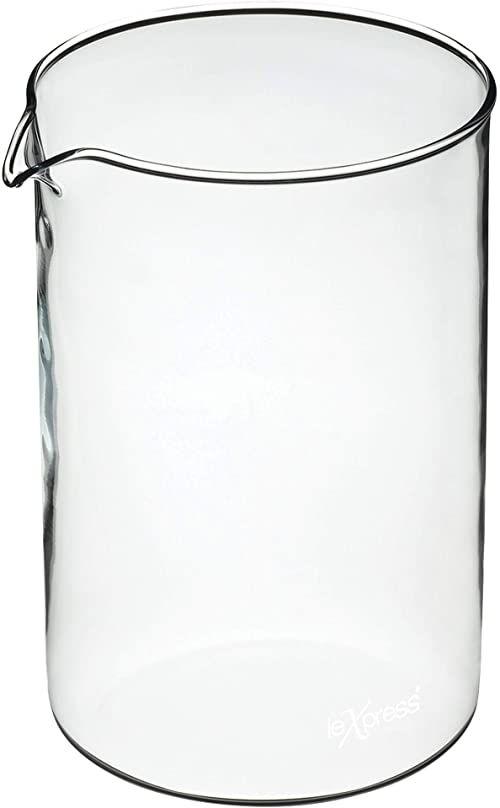 KitchenCraft Le''Xpress 12 filiżanek do kawy wymienny szklany dzbanek 1,5 litra (2,5 kropki)
