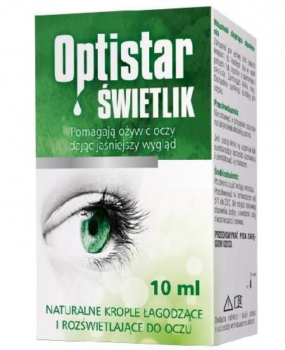 Optistar Świetlik krople do oczu 10 ml