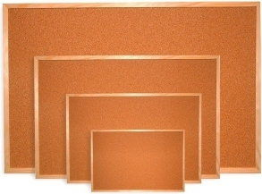 Tablica korkowa rama drewniana 120x80 cm DOM KORKOWY