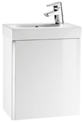 Roca Unik Mini zestaw łazienkowy 45x25cm biały połysk A855873806