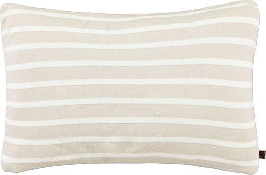 Poduszka arre 30 x 50 cm piaskowa z bawełny organicznej