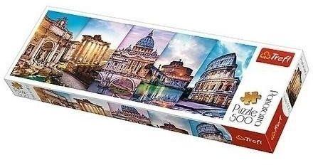Puzzle 500 Panorama - Podróż do Włoch TREFL