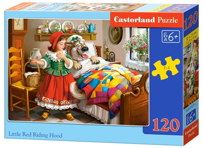 Puzzle 120 Czerwony Kapturek CASTOR