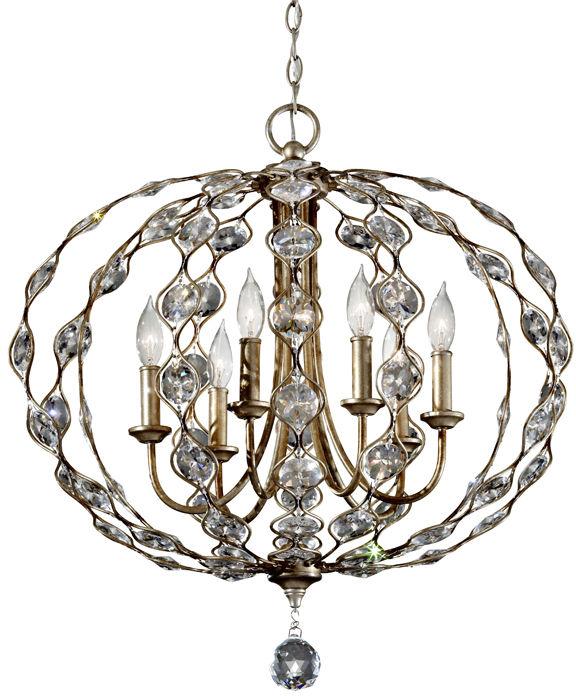 Lampa wisząca Leila FE/LEILA6 Feiss dekoracyjna oprawa w klasycznym stylu