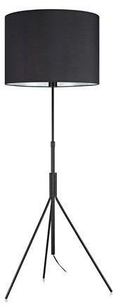 Lampa podłogowa Sling 107000 Markslojd czarna abażurowa lampa stojąca