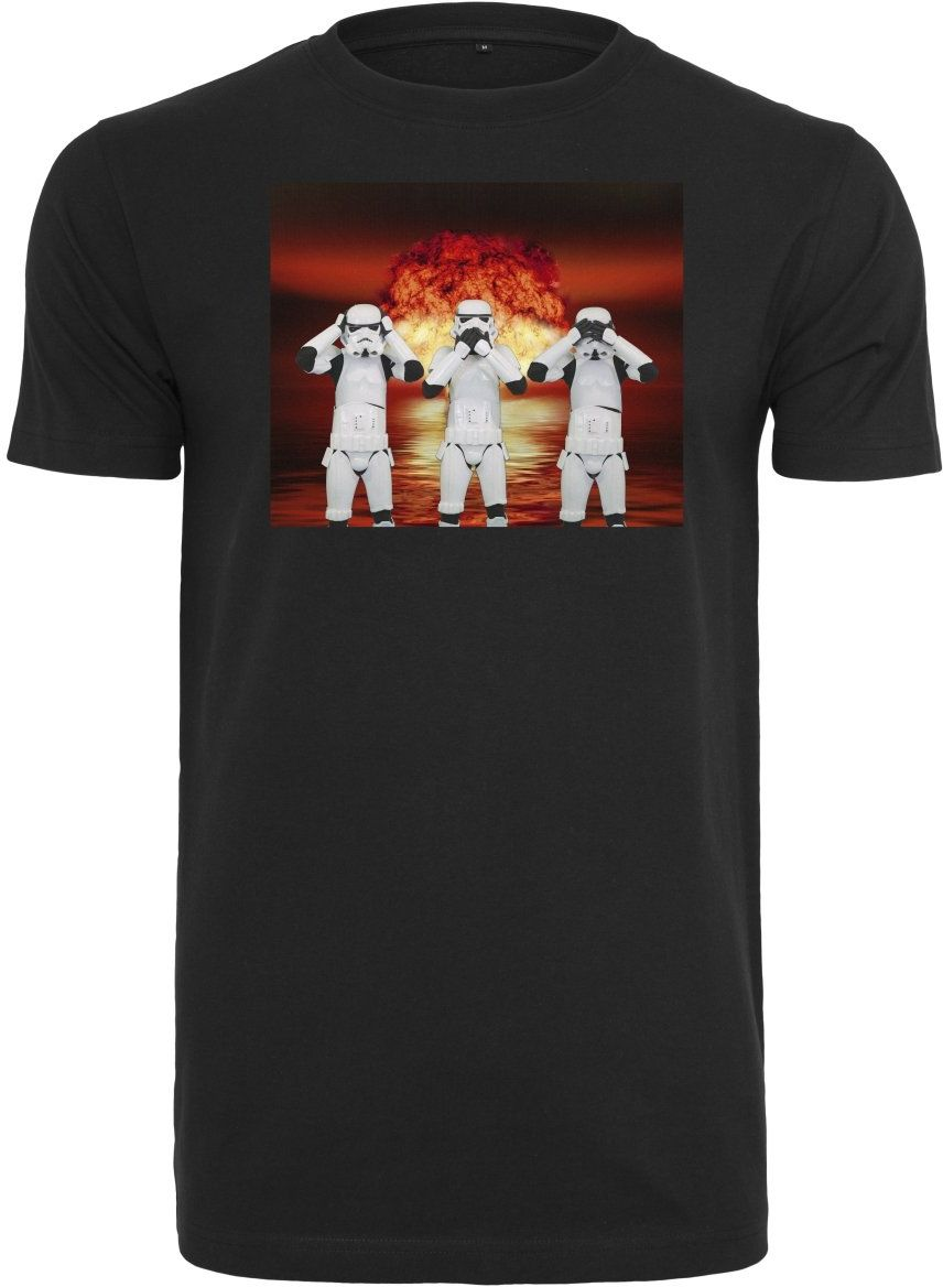 MERCHCODE Męska koszulka Stormtrooper Nuclear Tee T-shirt, czarna, XL