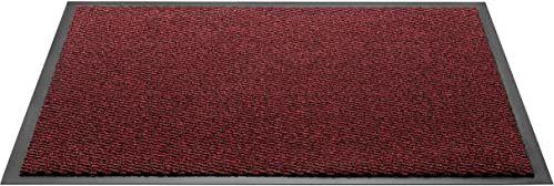 HMT wycieraczka z polipropylenu, czerwona, 60 x 80 cm