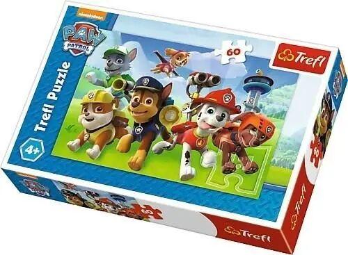 Puzzle 60 Psi Patrol, Gotowi do akcji TREFL