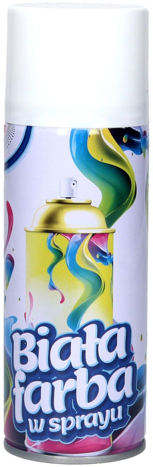 Farba spray biała FX300 Brewis