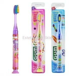 GUM Monster Light-UP - szczoteczka do zębów dla dzieci