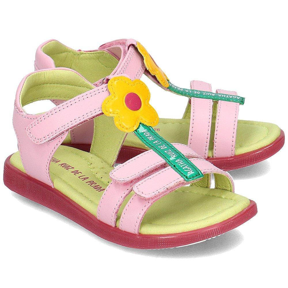 Agatha - Sandały Dziecięce - 192942 A-MIST - Różowy