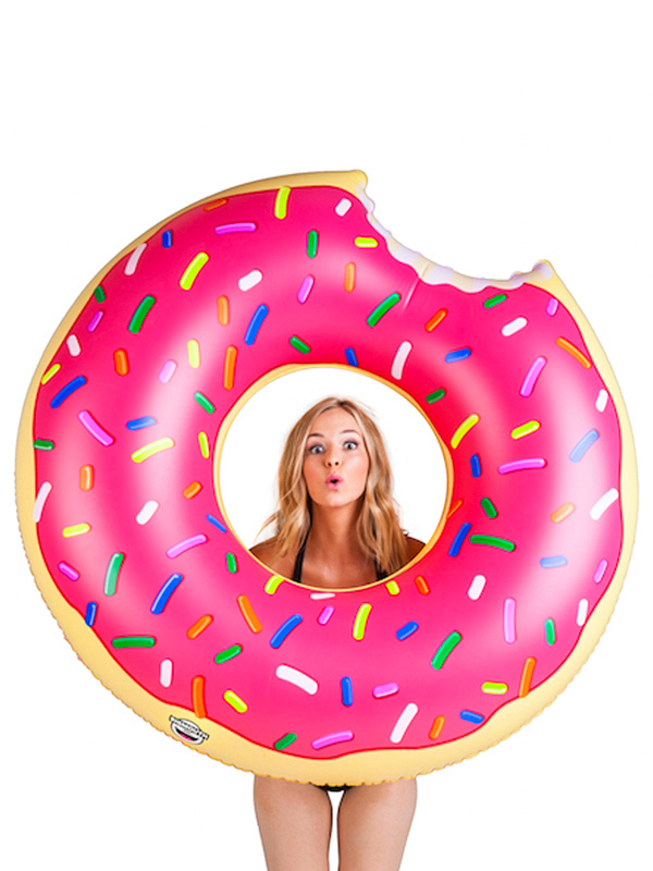 Big Mouth Inc. FLOAT DONUT PINK nadmuchiwane