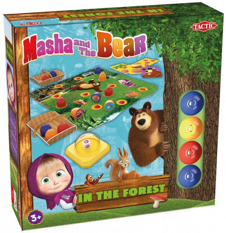 Gra Masza i Niedźwiedź w lesie (UK,NL,FR,PL)
