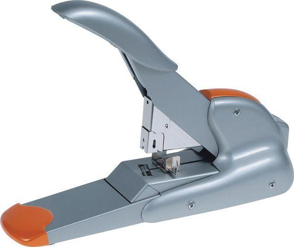 Zszywacz RAPID SUPREME DUAX Srebrno - pomarańczowy - X02890