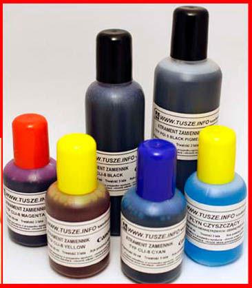 CANON PGI-5, PGI-520, PGI-525, PGI-550 ATRAMENT CZARNY PIGMENT 1 Litr