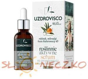 Serum do twarzy na promienność i nawodnienie cery ROKITNIK w ampułce 30 ml - Uzdrovisco