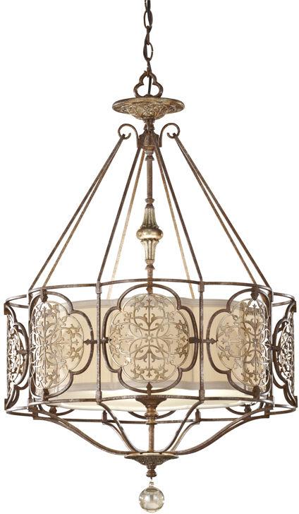 Lampa wisząca Marcella FE/MARCELLA/P Feiss dekoracyjna oprawa w klasycznym stylu